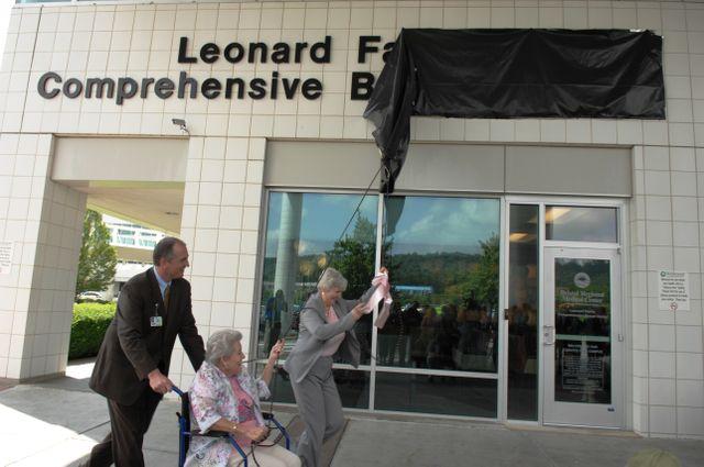 Leonard breast center