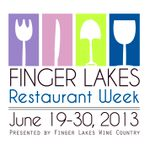 Finger Lakes Restaurant Week June Logo