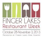Finger Lakes Restaurant Week logo