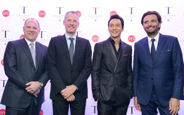 DFS executives and Daniel Wu