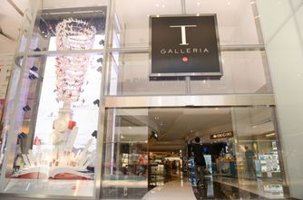 The new T Galleria Hong Kong, Canton Road