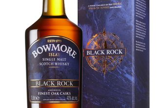 Bowmore Black Rock - Bottle & Box