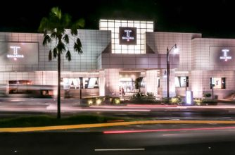 GUAM -- T Galleria Guam At Night