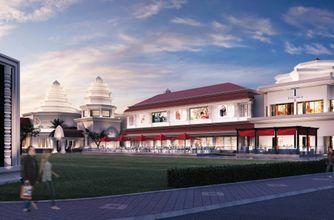 Artist rendering - Façade of the new T Galleria in Siem Reap
