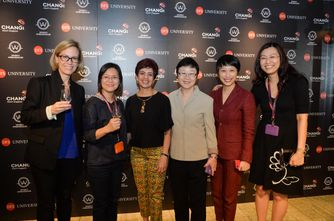 Brooke Supernauw, Teo Chew Hoon, Monet Aluquin, Patricia Sim, Wilcy Wong, Lim Peck Hoon