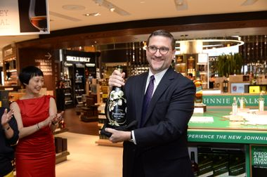 Champagne Toast - Tim Delessio, President of Store Operations (DFS)