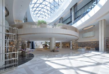 Stretching across 173,000 square feet, the expanded T Galleria by DFS, City of Dreams is the fashion destination in Macau and introduced T Galleria by DFS' first shoe hall globally