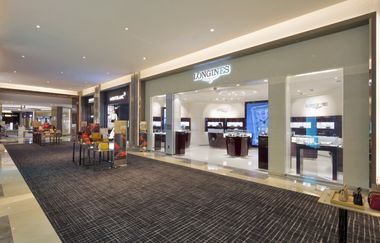 Longines and DFS Group celebrated the grand opening of the Longines boutique inside T Galleria by DFS, City of Dreams' in the newly expanded Watches and Jewelry Hall