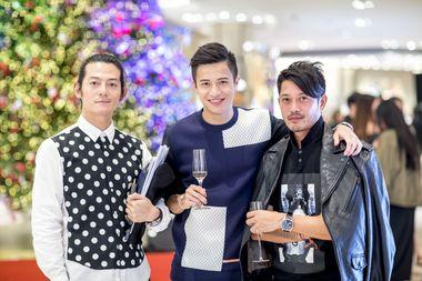 Brian Li, Shaun Hui, Jayden Lip