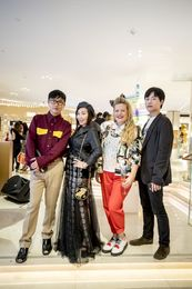 Declan Chan, Bag Snob, Boyarde and Vogue China's Jun Qi