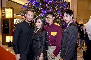 James Holloman, Tina Craig, Declan Chan, Jun Qi