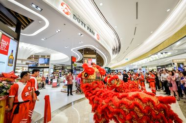 DFS Terminal 4 Store Opening (2)