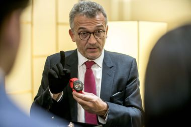 Mr Christophe Chaix, Senior Vice President, Global Merchandising for Watches, Jewelry, Accessories and Sunglasses