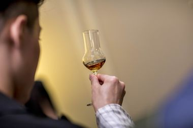 Guided tastings were provided by Macallan ambassadors