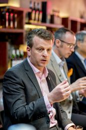 Brian Kinsman, Malt Master Glenfiddich at The Whiskey House panel discussion