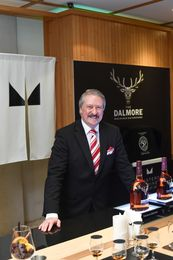 Richard Paterson, Master Blender The Dalmore, hosted a bespoke tasting to showcase The Dalmore's rich heritage and artistry