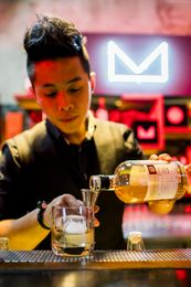 VIP guests encountered tastings from across the finest wines and spirits brands as they hopped across the shophouses on Singapore's historic Tras Street