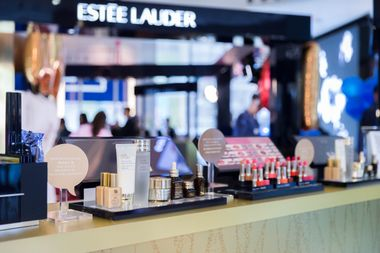 The #BeautyAllNight pop-up showcases the DFS Exclusive Love of Night set