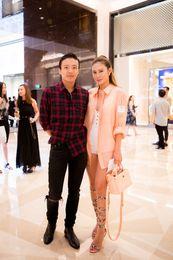 Jonathan Cheung and Elly Lam