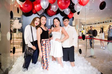 L to R_ Faye Tsui, Anny Fan, Tina Leung and Declan Chan
