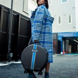5) OOKONN Personalized Luggage (BLAH) - HKD$ 2,880