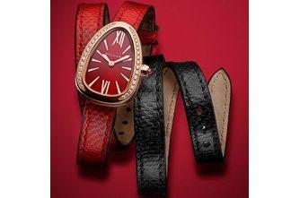 BVLGARI Serpenti Twist Your Time 27mm Watch