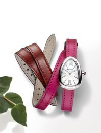Bvlgari Serpenti Twist Your Time with Mother of Pearl Dial