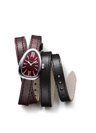 Bvlgari Serpenti Twist Your Time with Red Dial