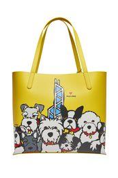 Marc Tetro_ Hong Kong Dog Group Tote Bag