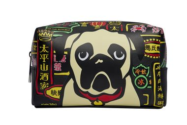 Marc Tetro_ Hong Kong Pug Large Cosmetic Bag