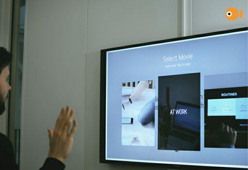Crunchfish gesture control software using Intel® RealSense™ Technology