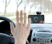 Gesture controlled car mode in your smartphone